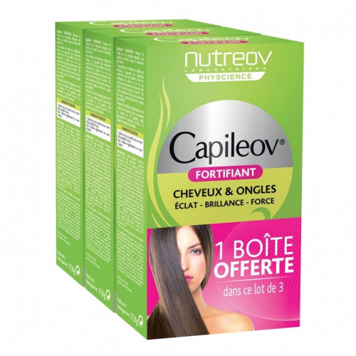 NUTREOV CAPILEOV FORTIFIANT LOT DE 3 X 30 GÉLULES