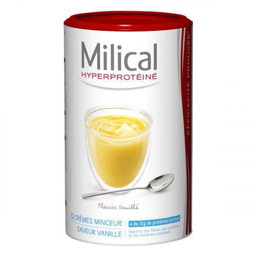 MILICAL Milk Shake Minceur Saveur Vanille, 540 g