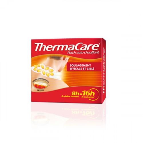 Thermacare 6 Patchs Chauffants Nuque, Epaule et Poignet