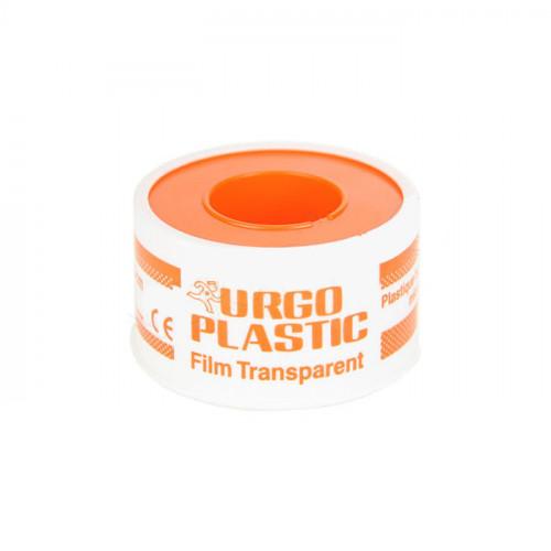 URGOPLASTIC Sparadrap plastique transparent, hypoallergénique, microperforé