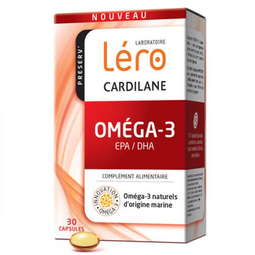 Léro Cardilane Oméga 3 30 Capsules
