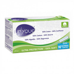UNYQUE 16 TAMPONS NORMAL