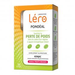 Léro Pondéal Favorise la Perte de Poids Arôme Fruits Rouges 30 Sticks