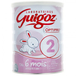 Guigoz lait 2ème âge 800 g