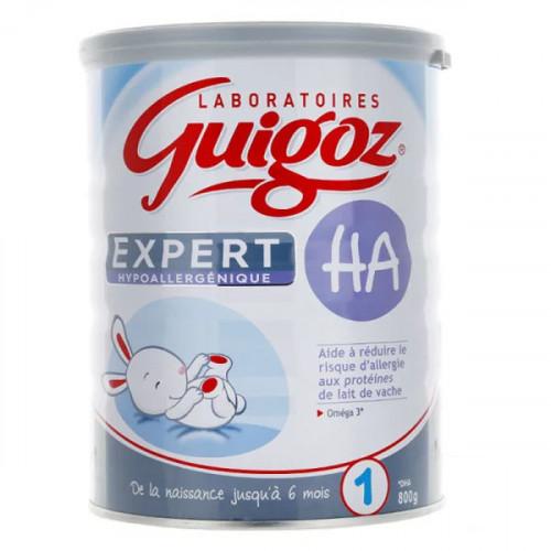Guigoz Expert HA lait 1er âge 800 g