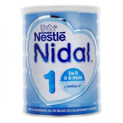 Nidal lait 1er âge 800 g