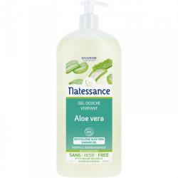 Natessance Gel Douche Aloe Vera Bio 1 litre