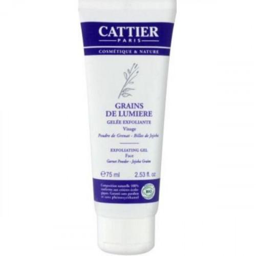 CATTIER Gelée Exfoliante, Grain de Lumière, 75 ml