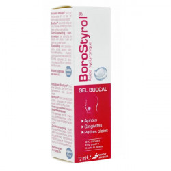 Borostyrol gel buccal 12 ml