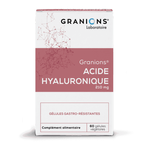 GRANIONS ACIDE HYALURONIQUE 200 mg - 60 gélules