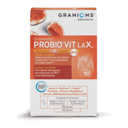 GRANIONS PROBIO'VIT LAX - 20 Gélules