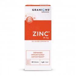 GRANIONS ZINC 60 Gélules