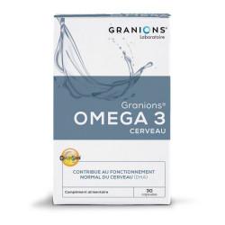 GRANIONS OMEGA3 CERVEAU - 30 Capsules