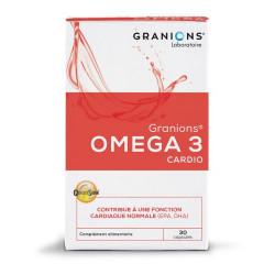 GRANIONS OMEGA3 CARDIO - 30 Capsules