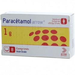 PARACETAMOL ARROW CONSEIL 1g - 8 Comprimés