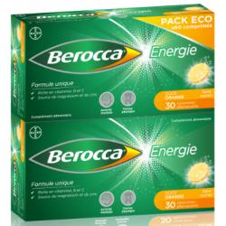 BEROCCA ENERGIE - 60 Comprimés Effervescents