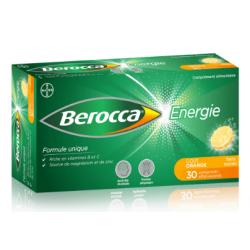 BEROCCA ENERGIE - 30 Comprimés Effervescents