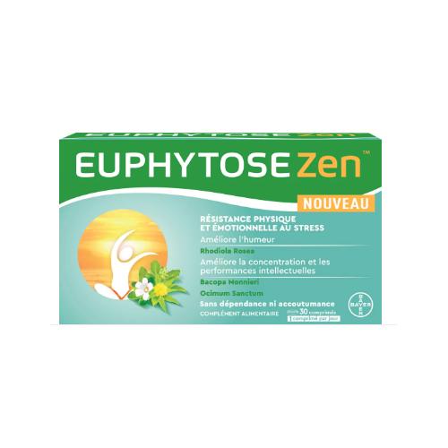 EUPHYTOSE ZEN - 30 Comprimés