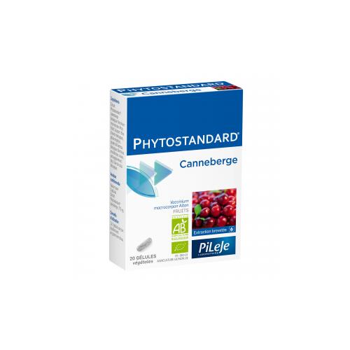 PHYTOSTANDARD Canneberge - 20 Gélules