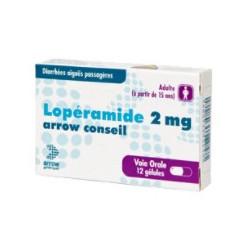 LOPERAMIDE ARROW CONSEIL 2 mg, gélule, boîte de 12