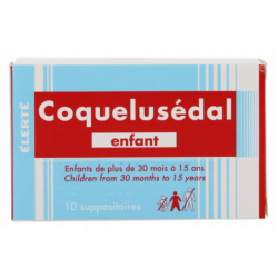 COQUELUSEDAL Enfant - 10 Suppositoires