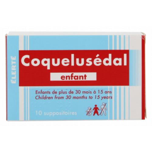 COQUELUSEDAL Enfant - 10 Suppositoires