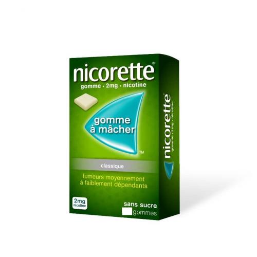 NICORETTE Classique 2 mg - 105 Gommes