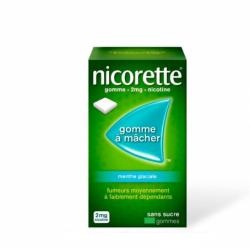 NICORETTE Menthe Glaciale 2 mg - 105 Gommes