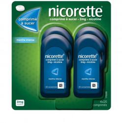 NICORETTE Menthe Intense 2 mg - 80 Comprimés à sucer