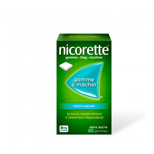 NICORETTE Menthe Glaciale 2 mg - 30 Gommes