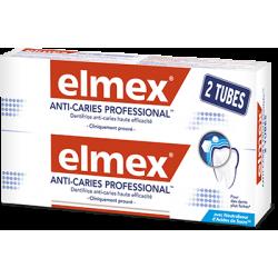 ELMEX ANTI-CARIES PROFESSIONAL DENTIFRICE - Lot de 2x75ml