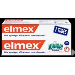 ELMEX JUNIOR DENTIFRICE Enfant 6-12ans - Lot de 2x75ml