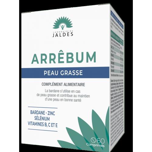 ARRÊBUM Peau Grasse - 60 Comprimés