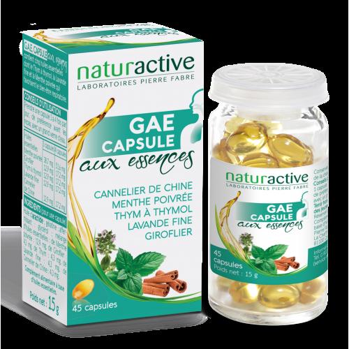 NATURACTIVE G.A.E. Gouttes Aux Essences - 45 capsules