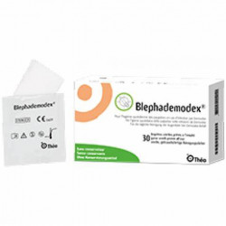 BLEPHADEMODEX LINGETTES NETTOYANTES STERILES - 30 Compresses