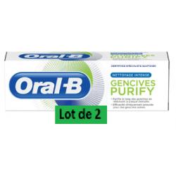 ORAL-B PURIFY DENTIFRICE - Lot de 2x75ml