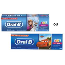 ORAL-B KIDS DENTIFRICE Enfant +3 ans - Reine des Neige / Cars