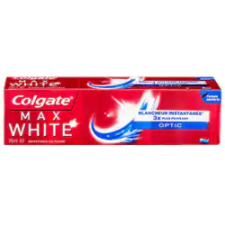 COLGATE DENTIFRICE MAX WHITE OPTIC 75ml