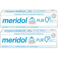 MERIDOL DENTIFRICE PUR DENT - Lot de 2x75ml