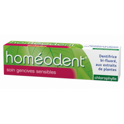HOMEODENT DENTIFRICE SOIN GENCIVES SENSIBLES Chlorophylle 75ml