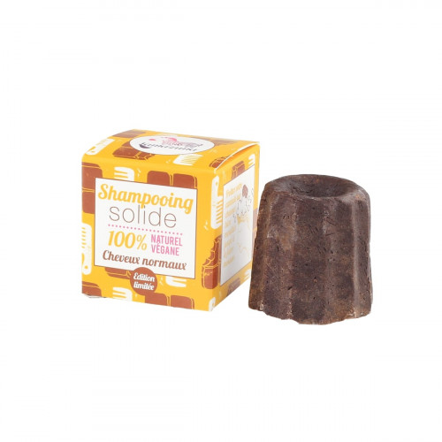 LAMAZUNA SHAMPOOING SOLIDE CHEVEUX NORMAUX Chocolat 55G