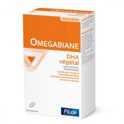 PILEJE OMEGABIANE DHA Végétal - 60 Capsules