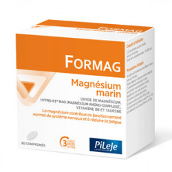 PILEJE FORMAG Magnésium Marin - 90 Comprimés