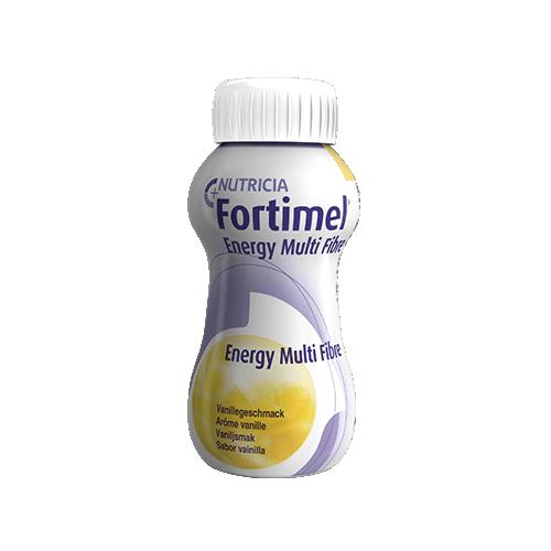 FORTIMEL ENERGY MULTI FIBRE Vanille - 4 Bouteilles de 200ml