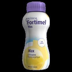 FORTIMEL MAX Fraise - 4 Bouteilles de 300ml