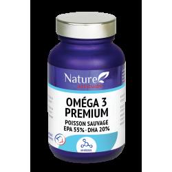 NATURE ATTITUDE Oméga 3 Premium - 60 gélules