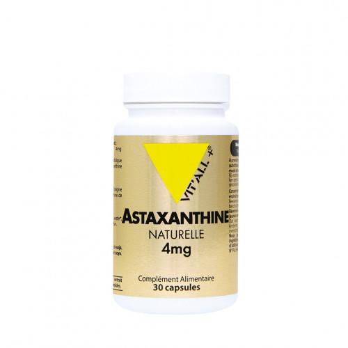 VITALL+ ASTAXANTHINE NATURELLE 4mg - 30 Capsules