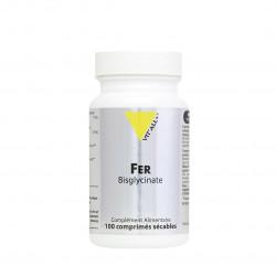 VITALL+ FER Bisglycinate 27mg - 100 Comprimés