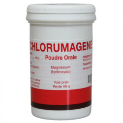 CHLORUMAGENE Magnesium Hydroxyde - Poudre orale 100g