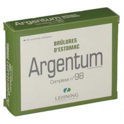 LEHNING ARGENTUM COMPLEXE N°98 - 60 Comprimés Sublinguales